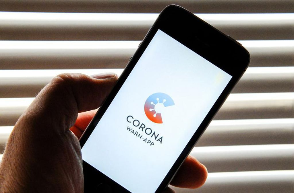 Die Corona-Warn-App wird vermutlich von Dienstag an erhältlich sein. Foto: dpa/Stefan Jaitner