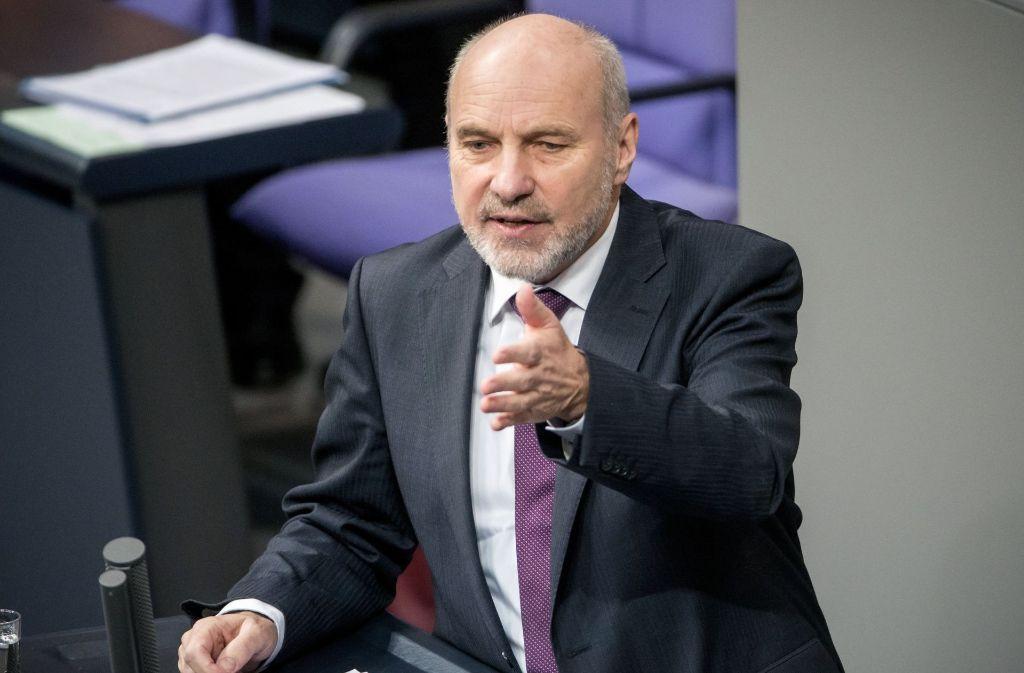 Der Nürtinger SPD-Bundestagsabgeordnete Rainer Arnold  tritt zur nächsten Wahl nicht mehr an. Foto: dpa