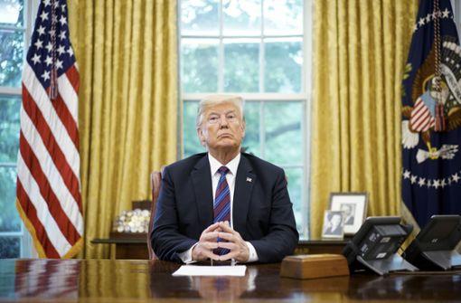 US-Präsident warnt Assad vor Angriff auf Idlib