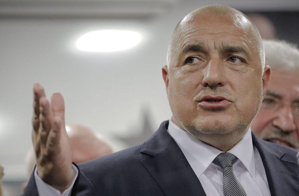 Bulgariens starker Mann: Bojko Borissow hält die Zügel in der Hand Foto: dpa