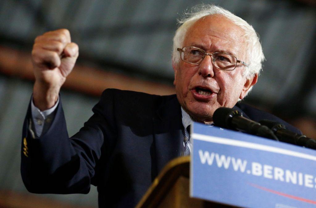 Will es nochmal wissen: Bernie Sanders. Foto: AFP