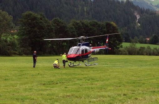 Acht Tote bei Unglücken in den Alpen