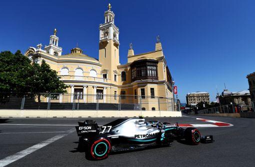 Bottas fährt auf die Pole – Vettel Dritter