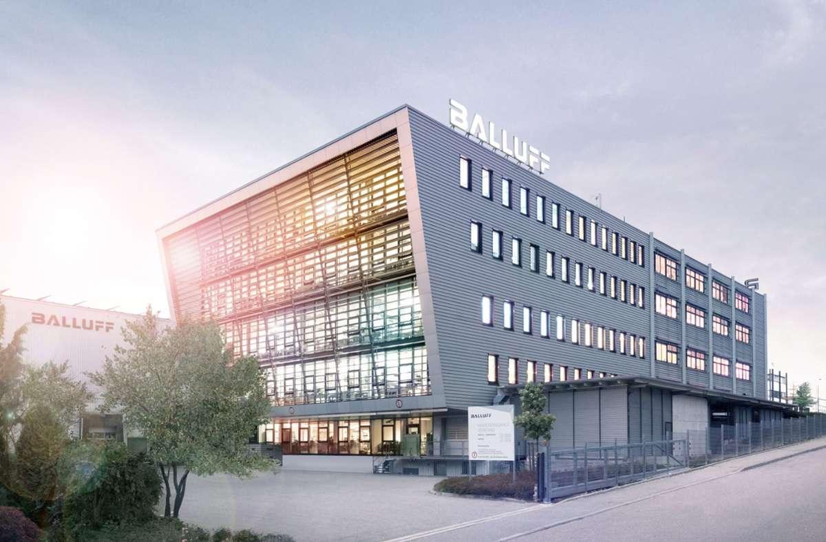 Die Balluff-Zentrale in Neuhausen auf den Fildern: Die Produktion wird verlagert. Foto: Balluff