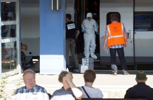 Mann schießt in Thalys-Schnellzug um sich