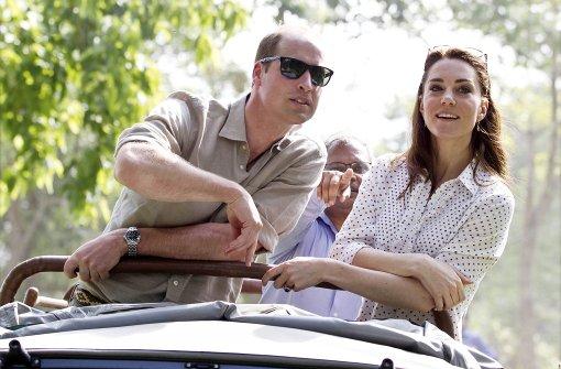 William und Kate gehen auf Safari