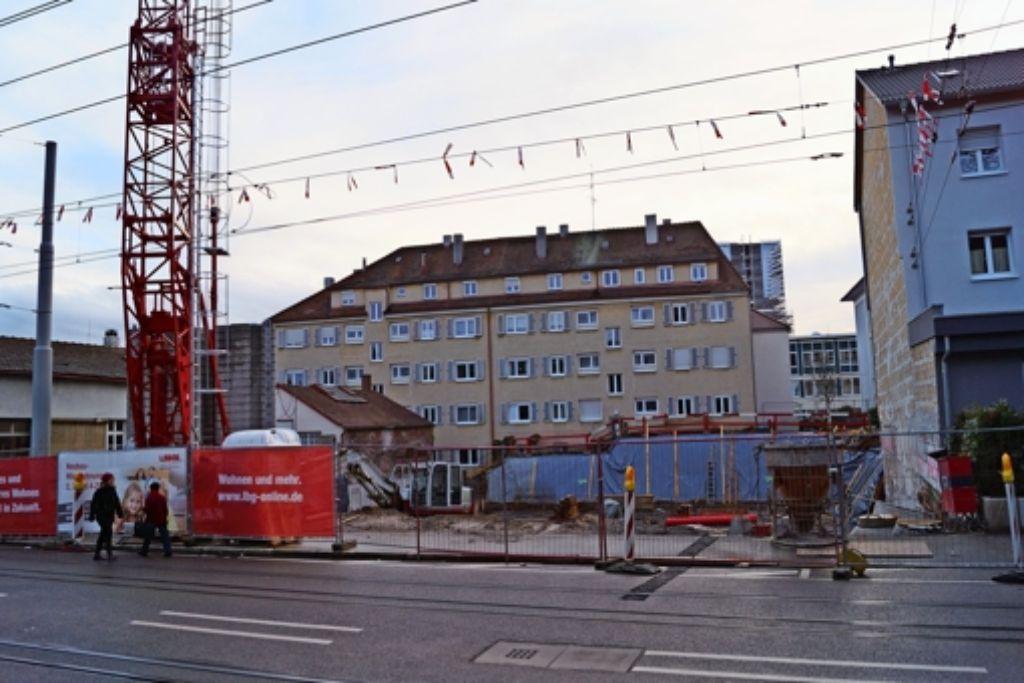 Zwei Millionen Euro investiert die LBG an der Friedhofstraße. Foto: Fritzsche