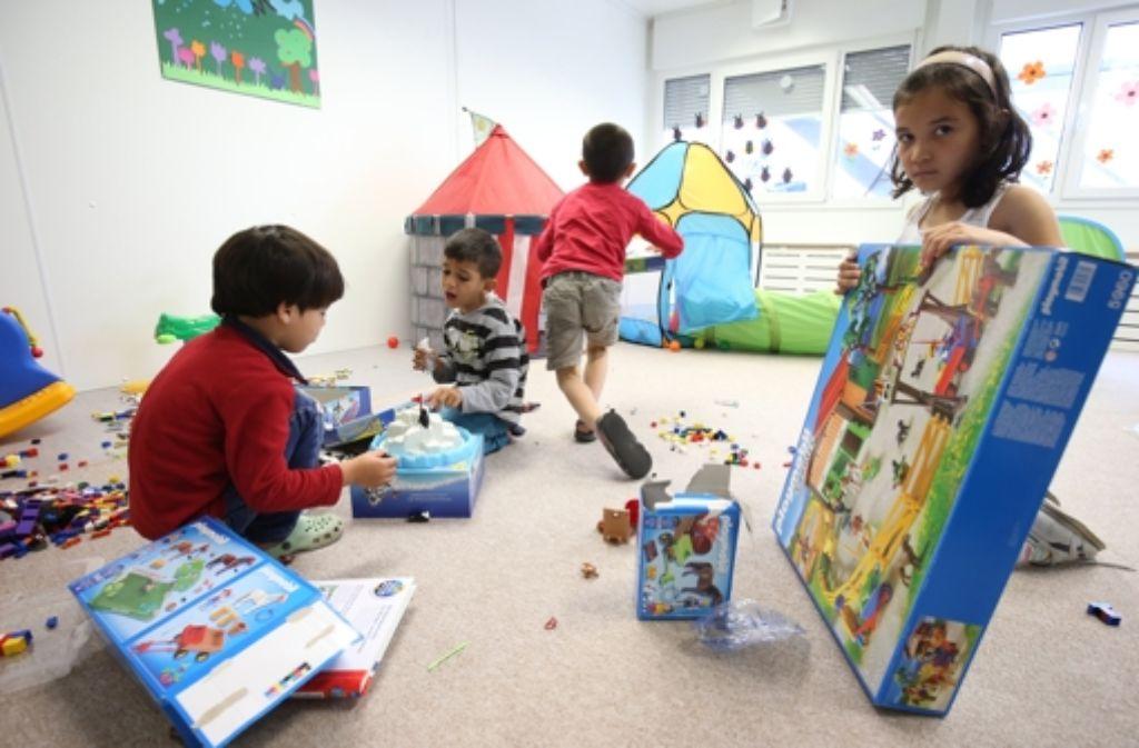 Durch den Zuzug der Flüchtlinge müssen auch mehr Kinder in den Tagesstätten untergebracht werden. Foto: dpa