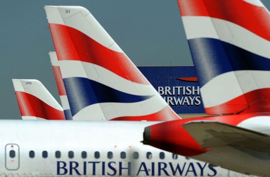 Wer bei British Airways über die Internetseite oder die App gebucht hat, könnte Opfer von Datendiebstahl geworden sein. Foto: AFP