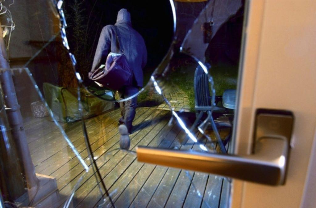 Im Dezember und Januar hat die Polizei in Stuttgart insgesamt zehn Einbrecher gefasst. Foto: dpa