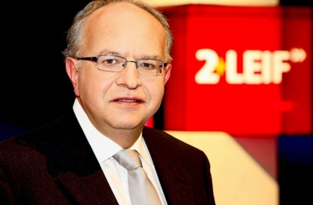 "Seine Talkshow ""2 + Leif"" soll auslaufen:   SWR-Chefreporter Thomas Leif. Foto: SWR"