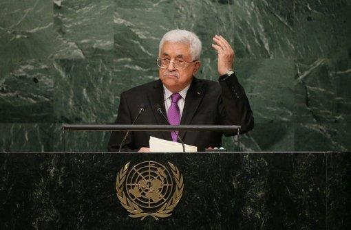 Abbas kündigt Oslo-Friedensprozess auf