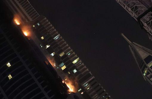 """The Torch"" in Flammen"