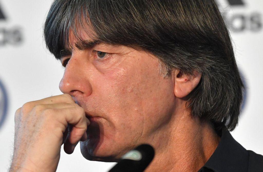 Insgesamt nominierte Löw 23 Spieler, die nach dem sportlichen Horror-Jahr mit dem WM-Aus in der Vorrunde und dem Abstieg in der Nations League für einen deutlich besseren Start ins neue Länderspieljahr sorgen sollen. Foto: dpa