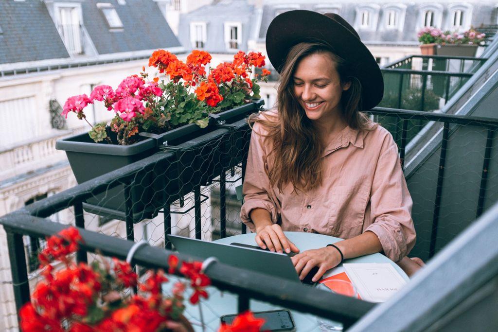 Studieren und Arbeiten von überall aus.  Foto: pexels/Daria Shevtsova
