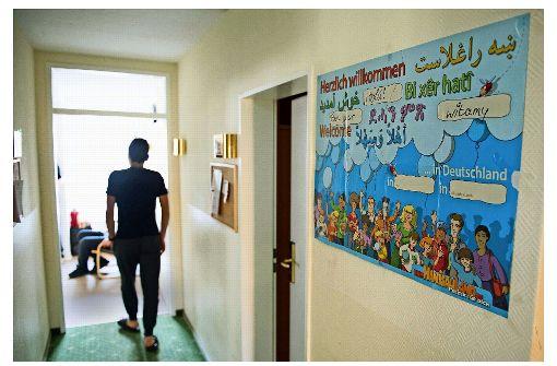 Minderjährige Flüchtlinge werden intensiv betreut