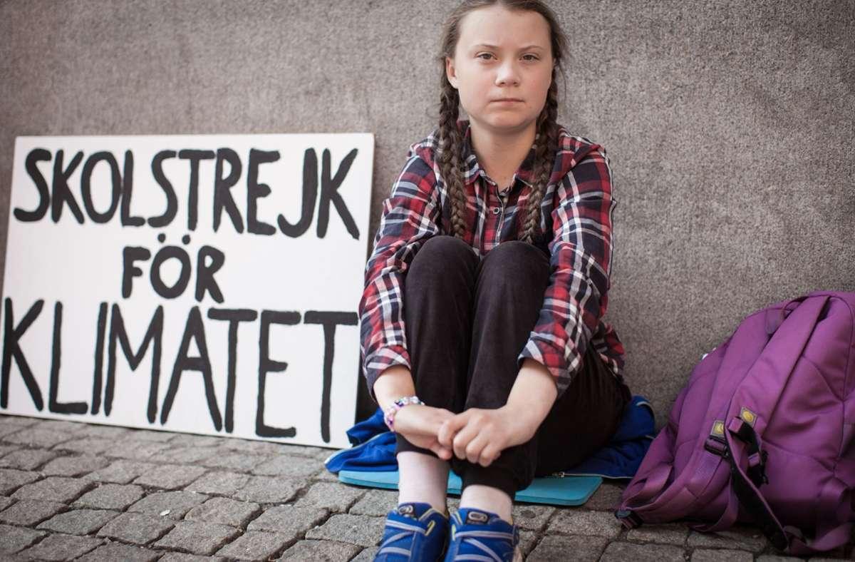 Mit 15 Jahren fing Greta Thunberg alleine an, freitags nicht in die Schule zu gehen, sondern fürs Klima zu demonstrieren – Millionen folgten ihrem Beispiel. Foto: Verleih