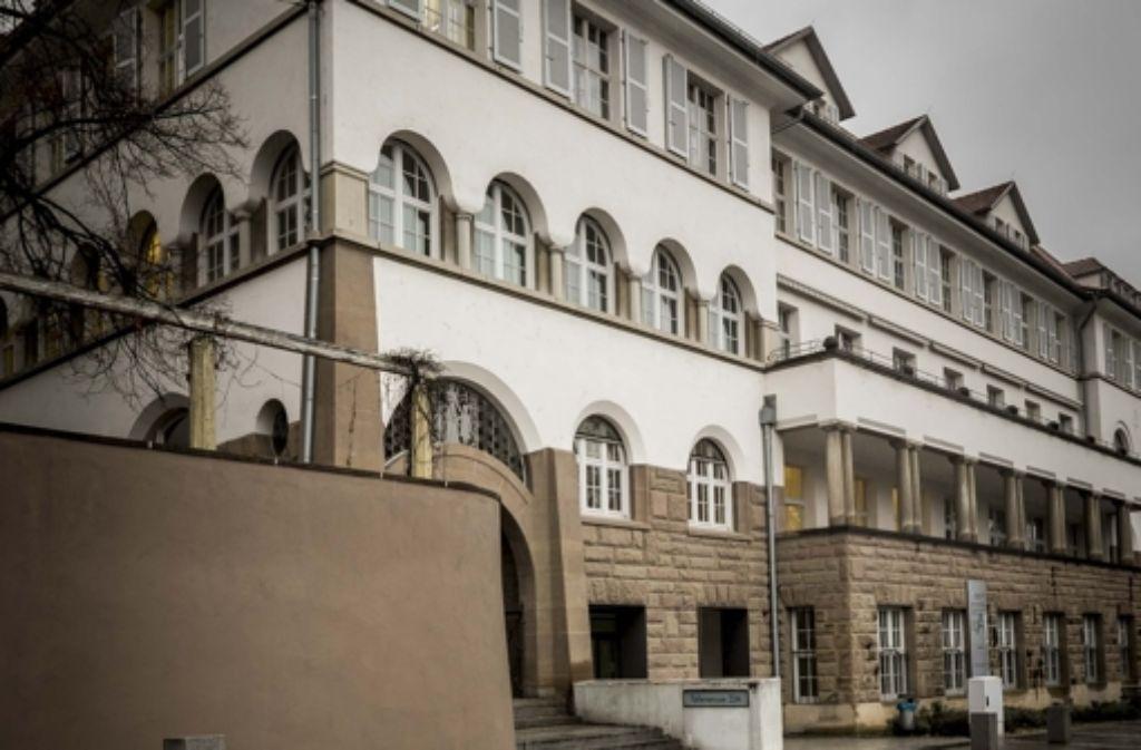 Das Gebäude Türlenstraße 22 war in der NS-Zeit eine Kinderklinik. Foto: Lg/Max Kovalenko
