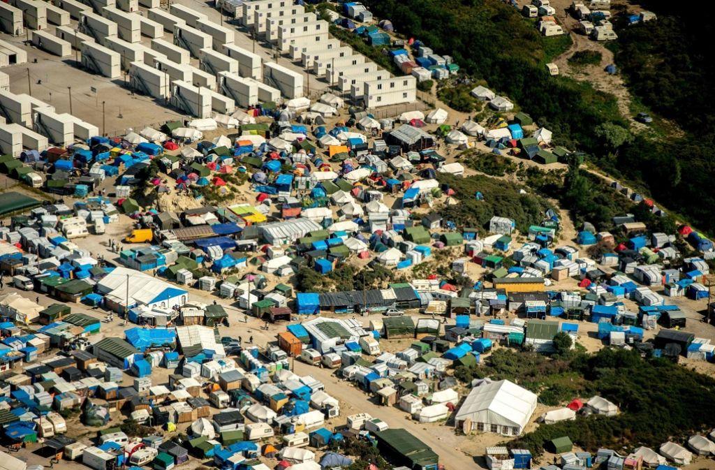 Calais Flüchtlingslager