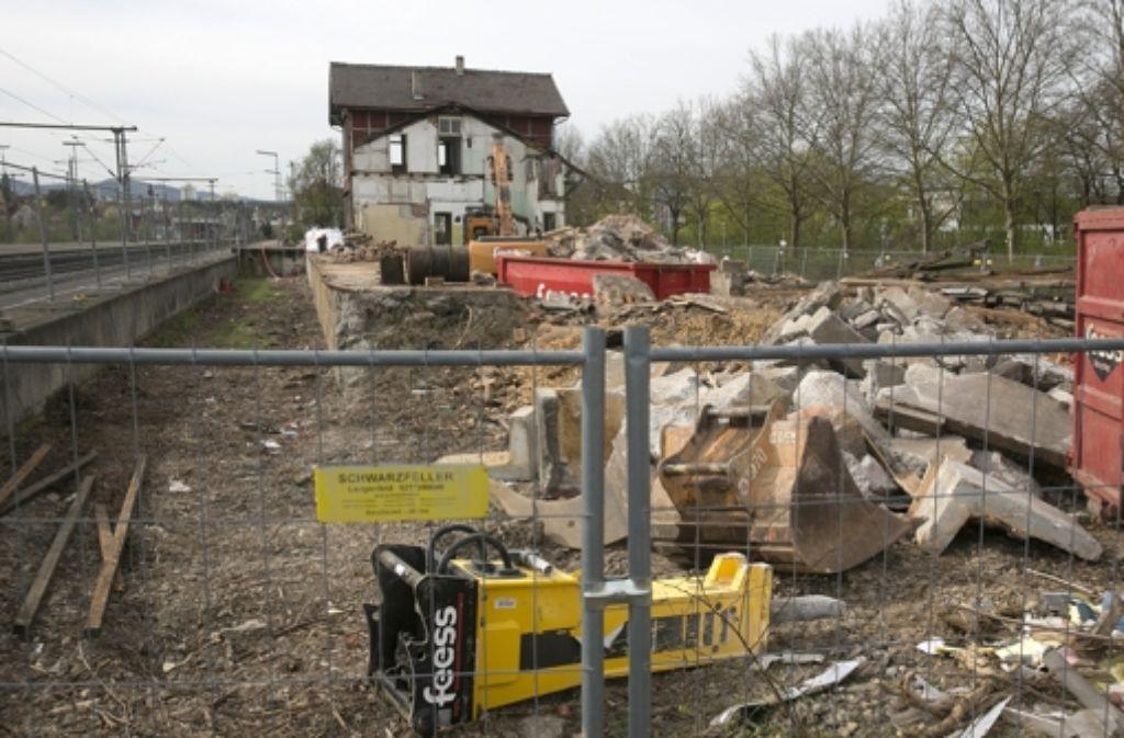 Die Stadt will am Gleis 13 keine Einzelhandelsflächen mehr. Foto: Horst Rudel