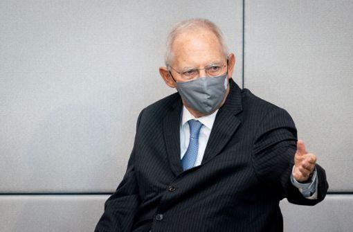 Bundestagspräsident  ruft Abgeordnete zum Einhalten der Corona-Regeln auf