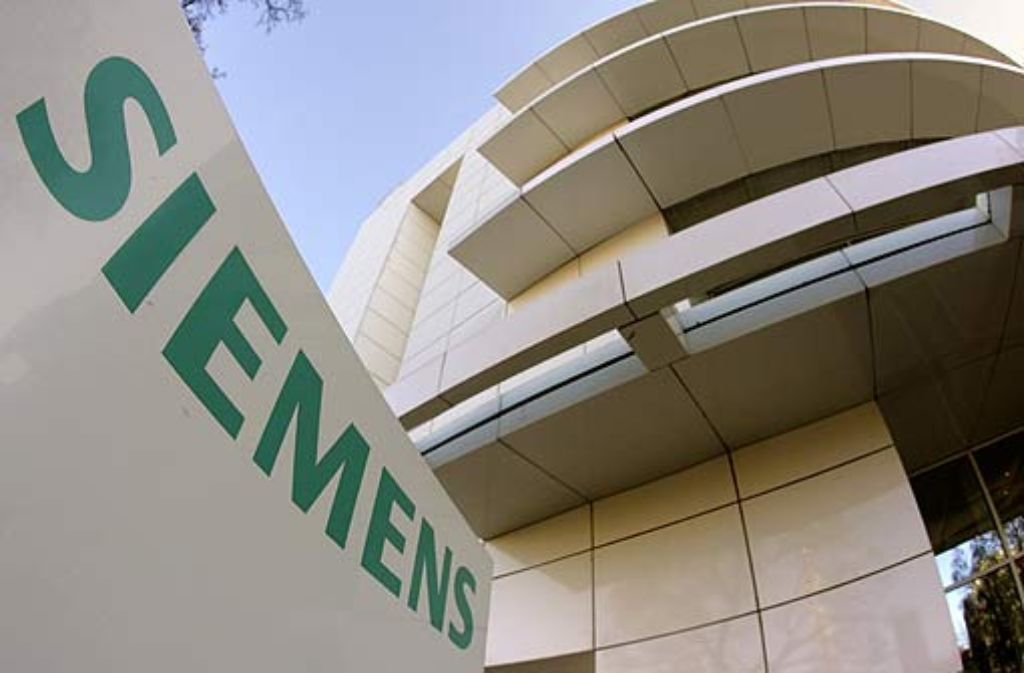 Siemens fördert das gesellschaftliche und politische Engagement seiner Mitarbeiter ... Foto: dpa