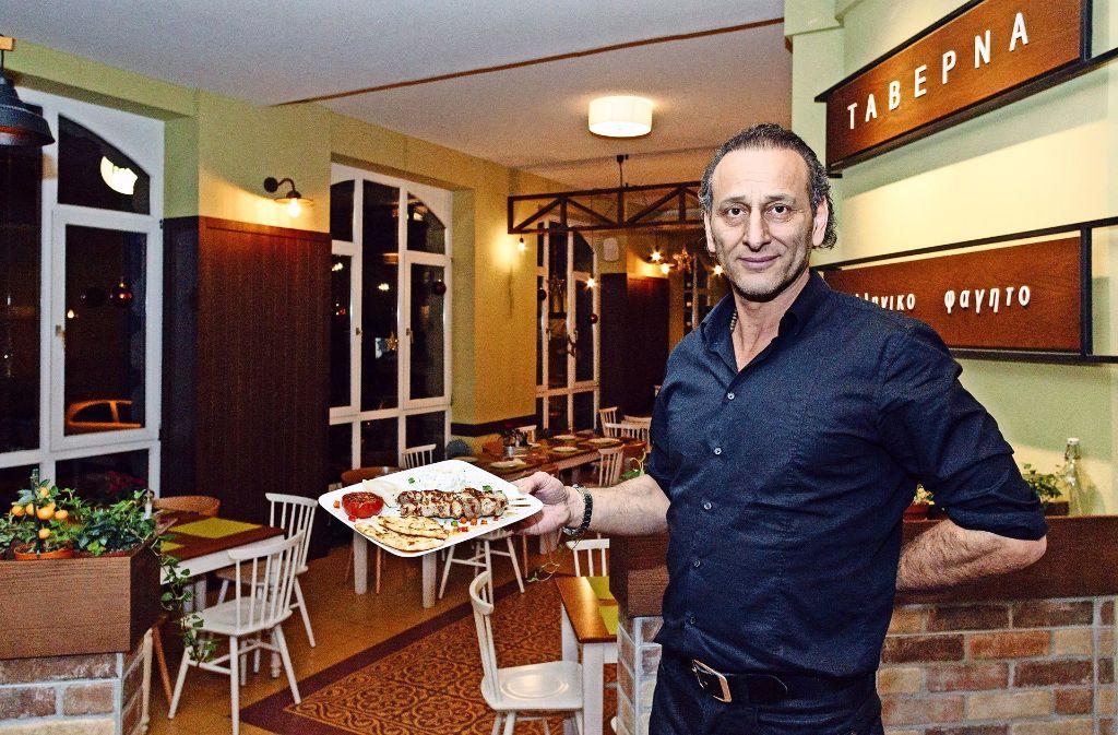 Constantin Gaitanidis hat das frühere Beja im Westen übernommen. Foto: Lg/Verena Ecker