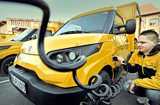 Post will 100.000 Elektroautos bauen