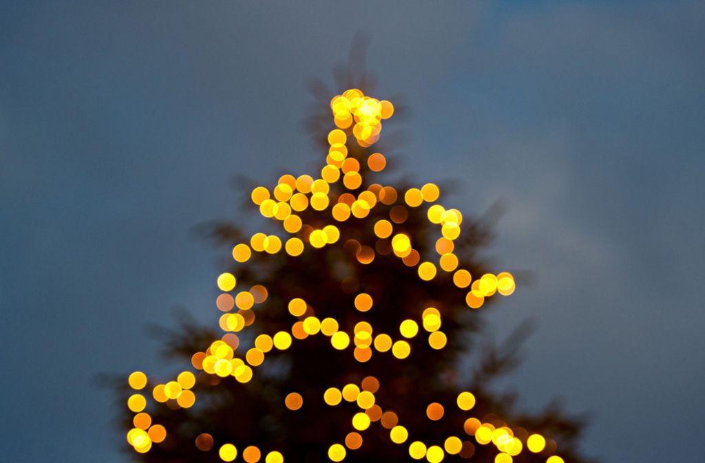 Der gestohlene Freiburger Weihnachtsbaum soll noch im Laufe der Woche ersetzt werden. (Symbolfoto) Foto: dpa/Daniel Bockwoldt