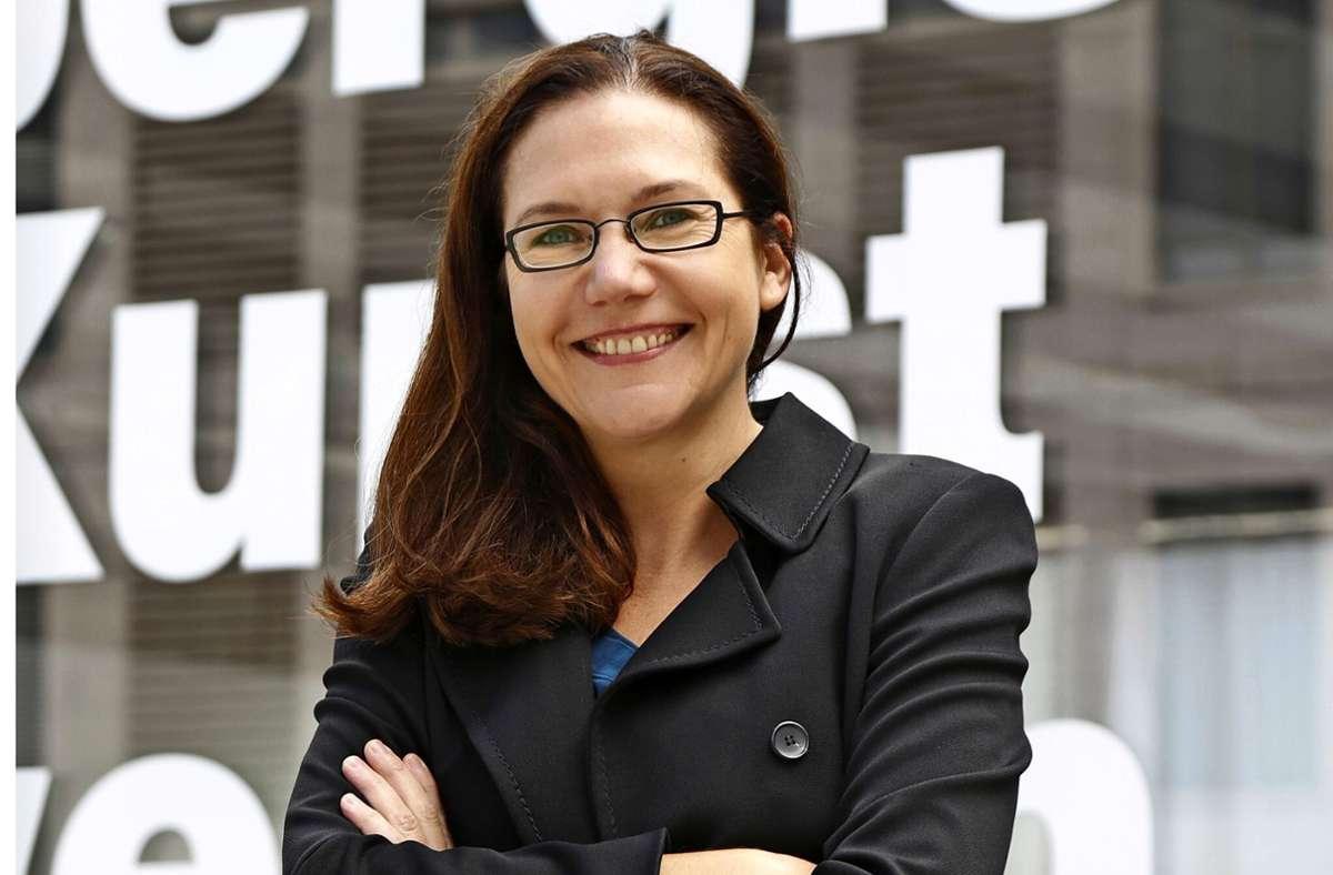 Die Direktorin des Württembergischen Kunstvereins, Iris Dressler Foto: Sascha Dressler