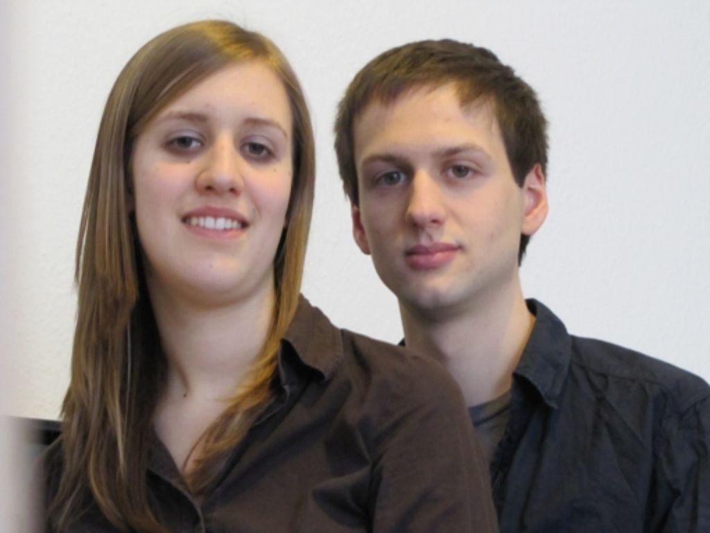 Anna Scholl und Veit-Jacob Walter lieben die Kirchenmusik. Foto: Sägesser