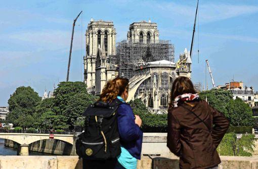 Ein General soll Notre-Dame wieder aufbauen