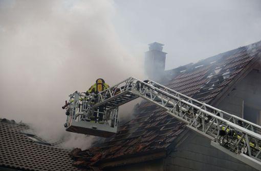 Brand flammt erneut auf