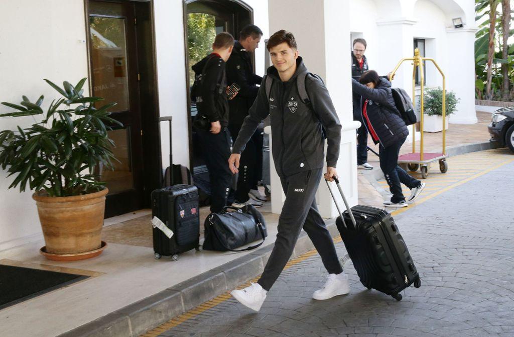 Es kann losgehen: Der VfB-Stuttgart hat sein Wintertrainingslager in Marbella bezogen. Foto: Pressefoto Baumann/Hansjürgen Britsch