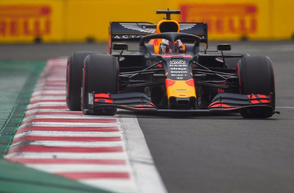 Max Verstappen schnappte sich Platz eins in der Qualifikation. Foto: AFP/PEDRO PARDO