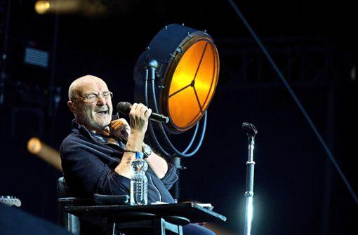 Phil Collins am Mittwochabend im Stuttgarter Fußballstadion