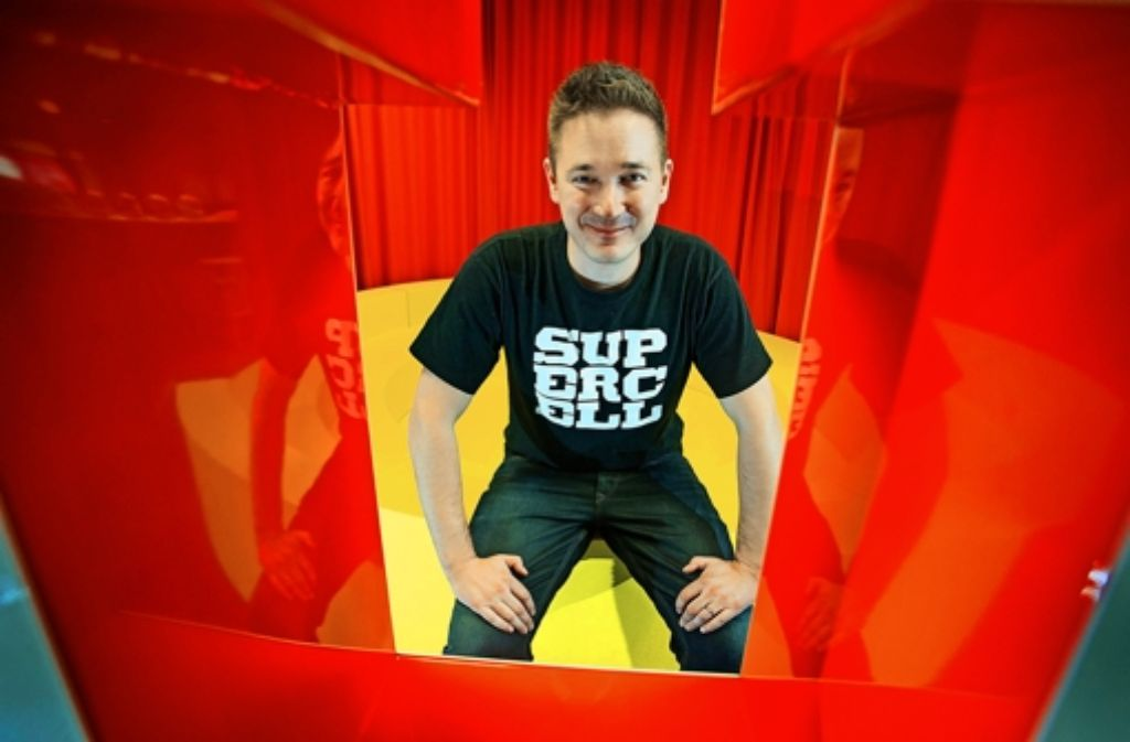 Vorstandschef Ilkka Paananen hat Grund zur Freude: Supercell wächst. Foto: dpa