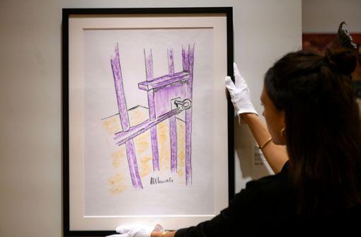 Mandela-Zeichnung für 112 000 Dollar versteigert
