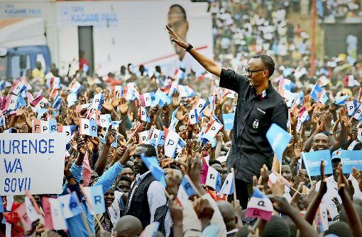 Ruanda: Fast alle stimmen für Präsident Kagama