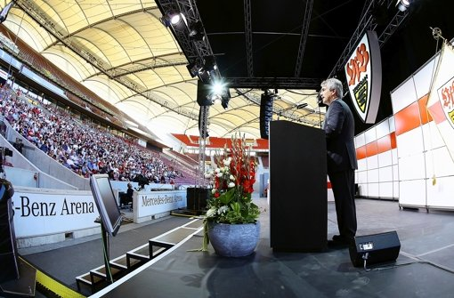 Gerd Mäuser macht klare Ansagen. Foto: Baumann
