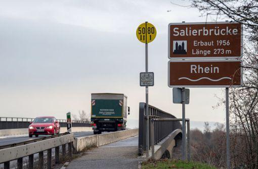 Salierbrücke bei Speyer bleibt ein Jahr länger gesperrt