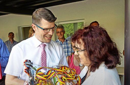 Matthias Schöck bleibt Bürgermeister
