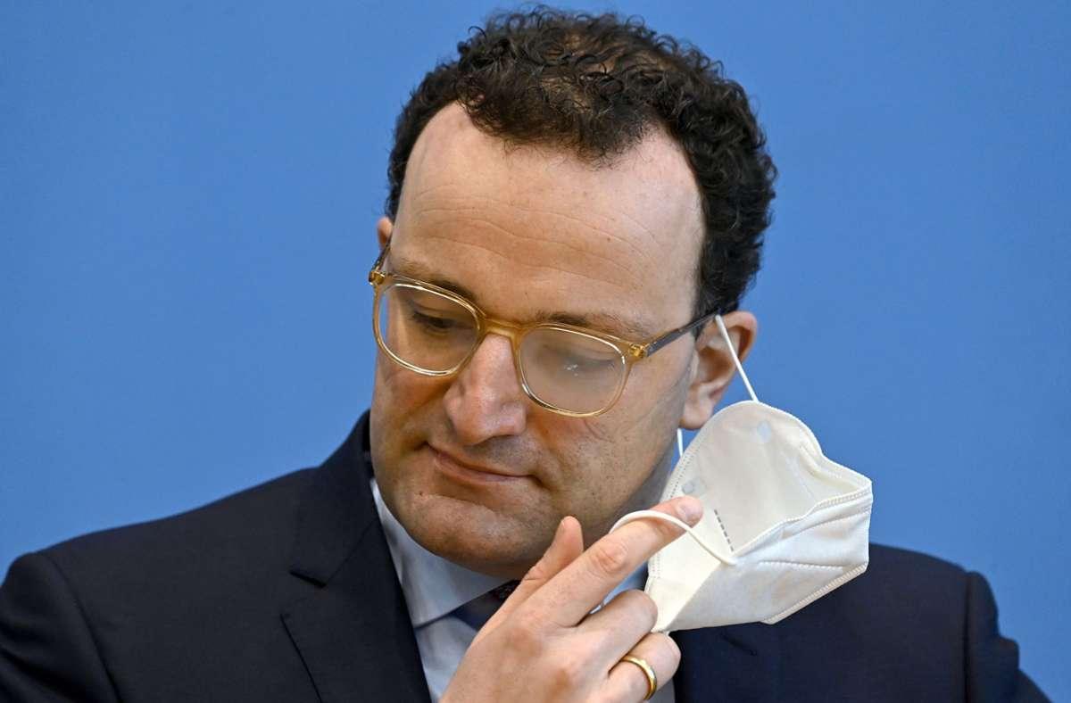Bundesgesundheitsminister Jens Spahn Foto: dpa/Tobias Schwarz