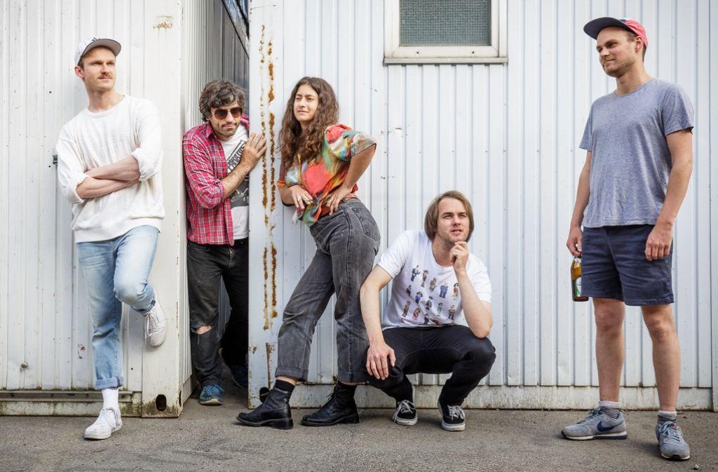 Die Stuttgarter Band Mosquito Ego hat ihre erste Platte herausgebracht. Foto: Lichtgut/Jan Potente