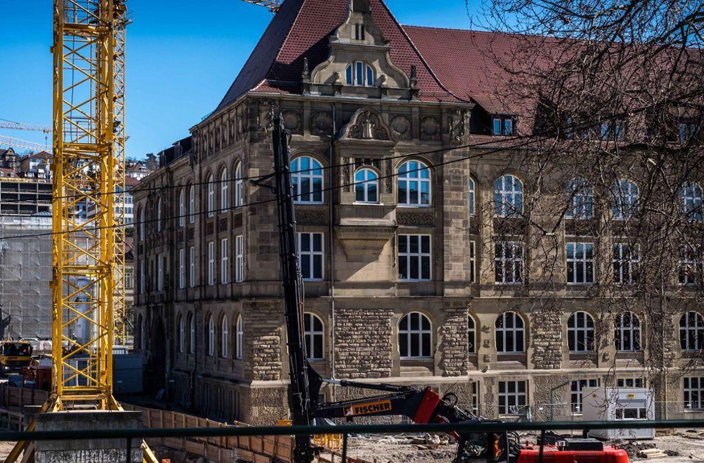Das Königin-Katharina-Stift soll als Gymnasium am alten Standort bleiben. Foto: Lichtgut/Max Kovalenko