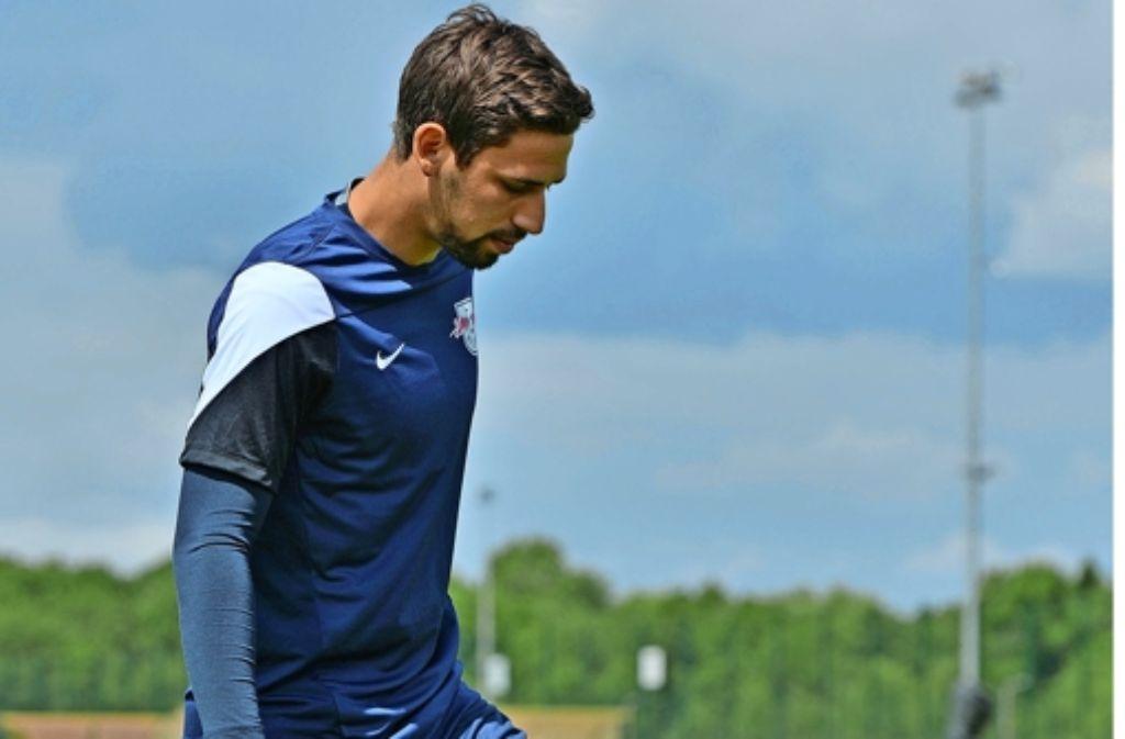 Rani Khedira arbeitet hart, um   bei RB Leipzig in der Anfangself zu bleiben. Foto: dpa