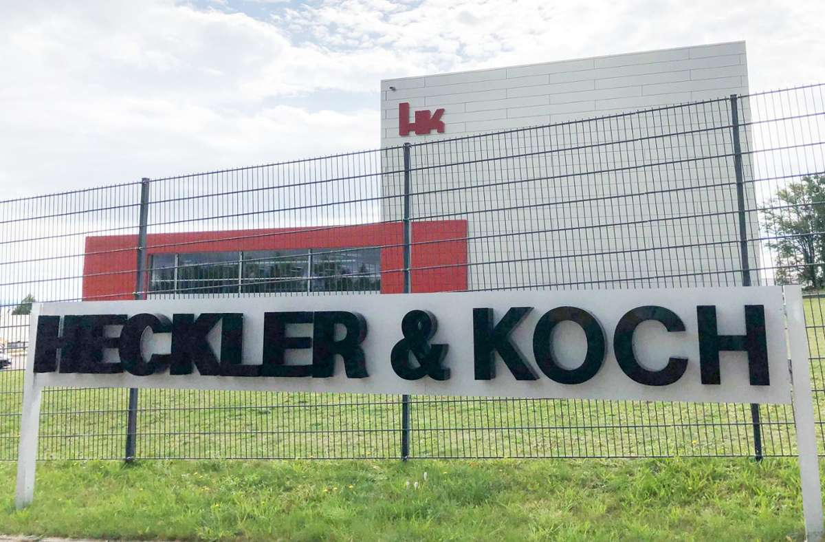 Heckler & Koch wirft dem Konkurrenten C.G. Haenel Verletzungen des Patentrechts vor. (Archivbild) Foto: dpa/Wolf von Dewitz