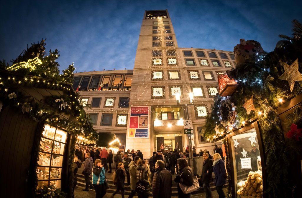 Weihnachtsmärkte gibt es in Stuttgart nicht nur auf dem Marktplatz. Wir haben die Veranstaltungen in den Stadtbezirken zusammengetragen. Foto: Lichtgut/Achim Zweygarth