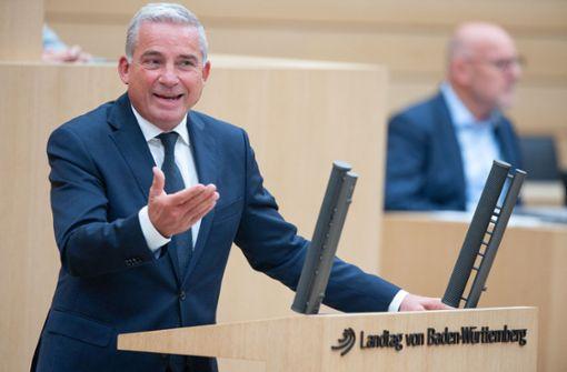 Innenminister Strobl verteidigt Polizeieinsatz energisch
