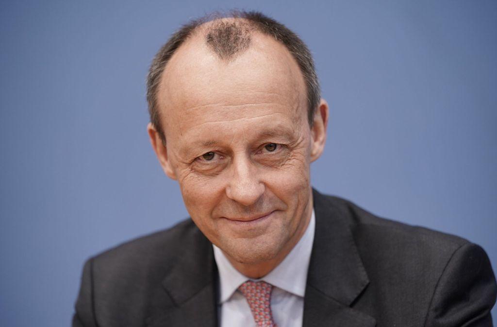 Steigt in den Ring für den CDU-Vorsitz: Friedrich Merz Foto: dpa/Michael Kappeler